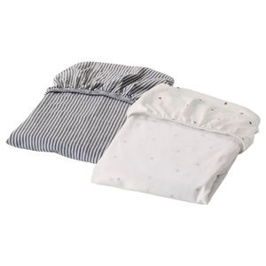 Fitted sheet for cradle 2 pack
